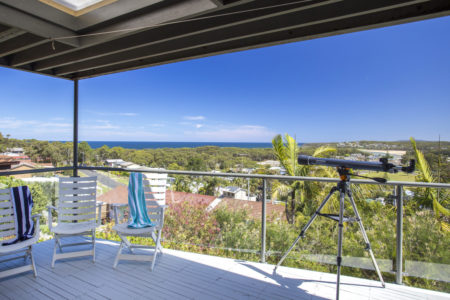 Elevated views over Burrill Lake - 17 Canberra Cres